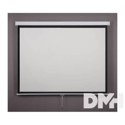 Bydium 1:1 180cm×180cm rolós fali vetítővászon