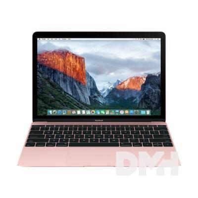 "Apple MacBook 12"" Retina/Intel Core m3 DC 1,2GHz/8GB/256GB/Intel HD 615/rozéarany laptop"