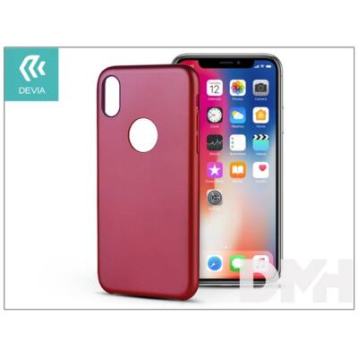 Devia ST300974 CEO iPhone X piros hátlap