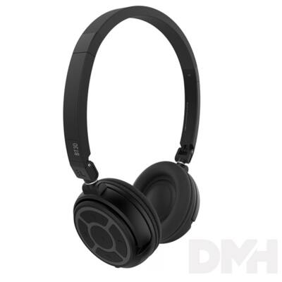 SoundMAGIC BT30 Over-Ear Bluetooth fekete fejhallgató headset aptX