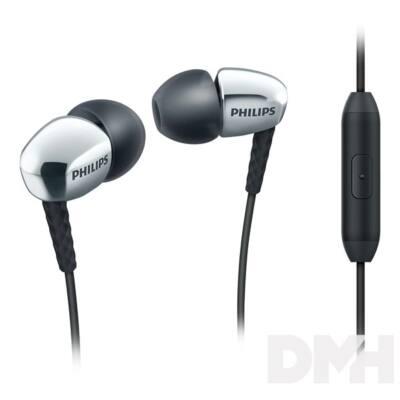 Philips SHE3905SL/00 ezüst mikrofonos fülhallgató