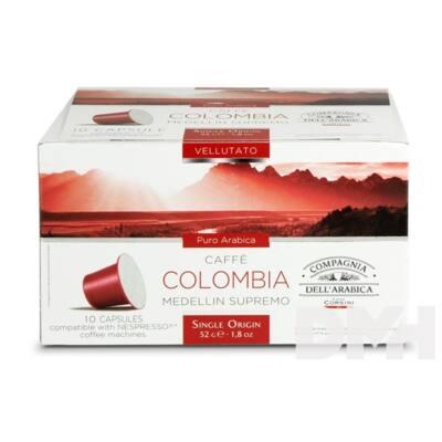 Compagnia Dell Arabica DCO051 Colombia Medellin Supremo Nespresso kompatibilis kávé kapszula 10*5,2g