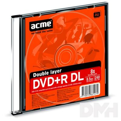Acme DVD+R 8.5GB 8X slim