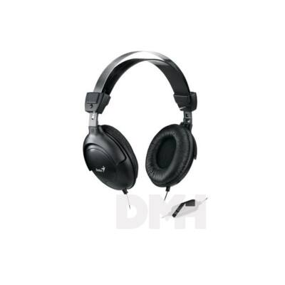 Genius HS-M505X single jack fekete headset