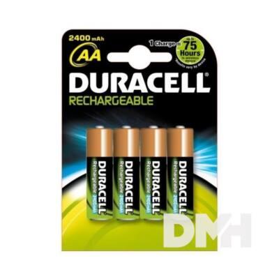 Duracell AA 2500mAh előtöltött ceruza akkumulátor 4db/bliszter