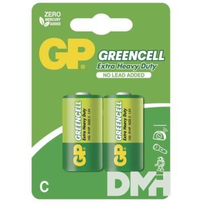 GP Greencell 14G 2db/blister baby (C) elem