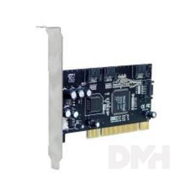 SpeedDragon 4 db Serial ATA port +Raid funkciós PCI kártya
