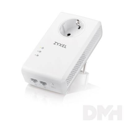 ZyXEL PLA5456 AV2000 MIMO Pass-Thru Powerline Gigabit Ethernet Adapter Kit