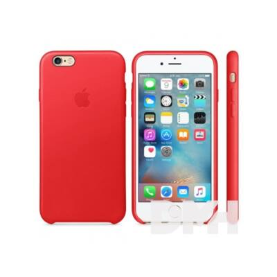 Apple iPhone6s bőrtok piros