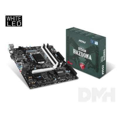 MSI B150M BAZOOKA Intel B150 LGA1151 mATX alaplap