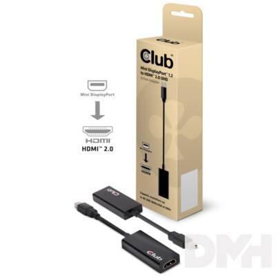 CLUB3D Mini Displayport - HDMI 2.0 adapter