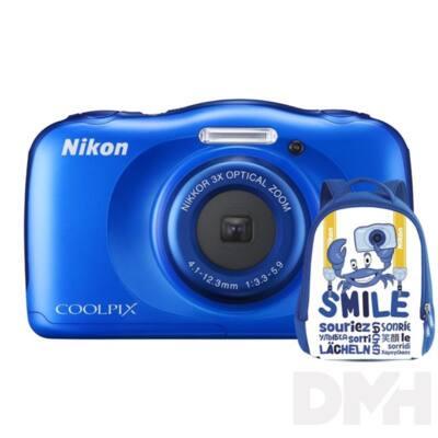 Nikon Coolpix W100 Kék digitális fényképezőgép hátizsák kit