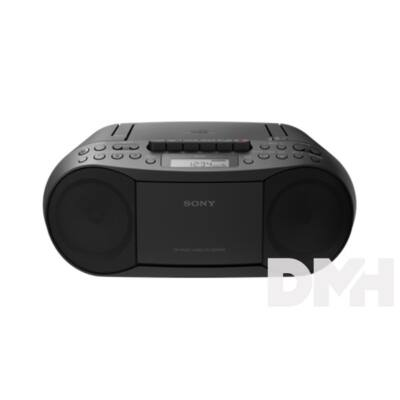 Sony CFDS70B.CET hordozható kazettás CD rádió