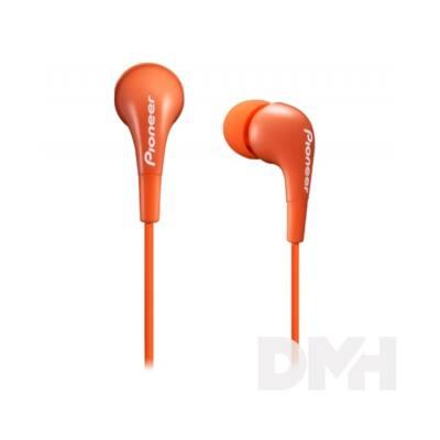 Pioneer SE-CL502-M narancssárga fülhallgató