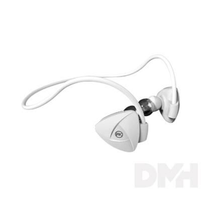 WK WK-BD600-W BD600 Bluetooth fehér sport fülhallgató