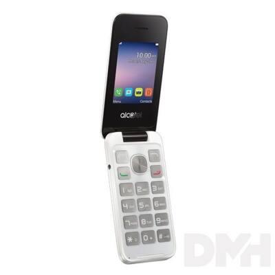 """Alcatel 2051D 2,4"""" Dual SIM fehér mobiltelefon + Vodafone kártya"""