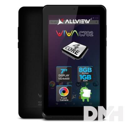 "Allview Viva C702 7"" 8GB Wi-Fi fekete tablet"