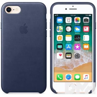 Apple iPhone 7/8 bőrtok éjkék