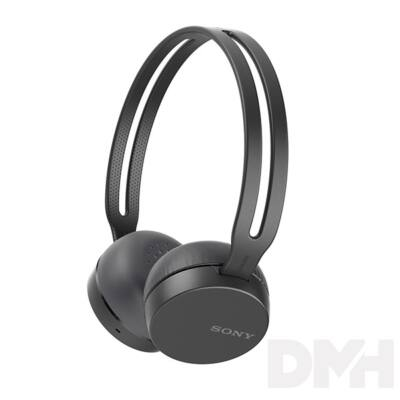 Sony WHCH400B Bluetooth fekete fejhallgató