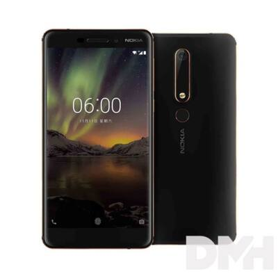 "Nokia 6.1 5,5"" LTE 32GB Dual SIM fekete okostelefon"