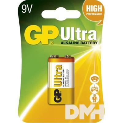 GP Ultra alkáli 9V 1db/blister elem
