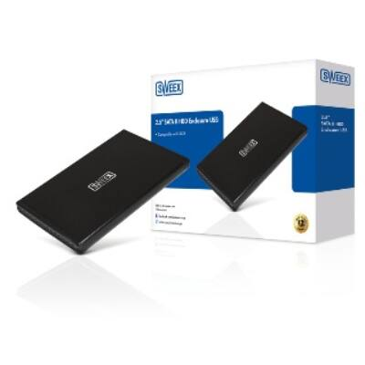 Sweex 2.5'' merevlemez ház, SATA II, USB 2.0
