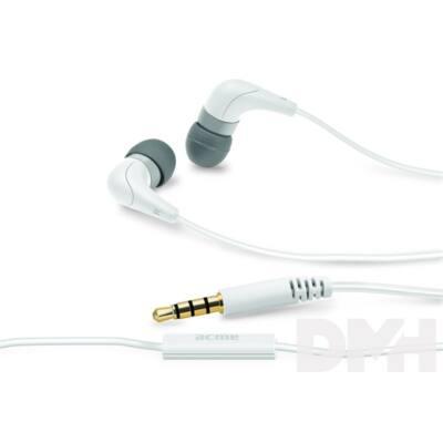 Acme HE15W Groovy fehér mikrofonos fülhallgató