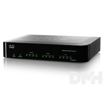 Cisco SPA8800 4xFXS + 4xFXO Vezetékes VoIP router