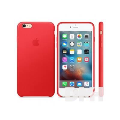 Apple iPhone6s Plus bőrtok piros