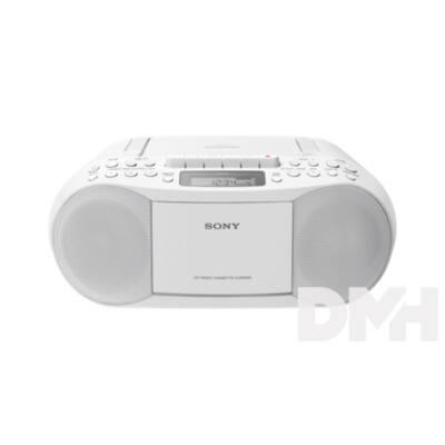 Sony CFDS70W.CET hordozható kazettás CD rádió
