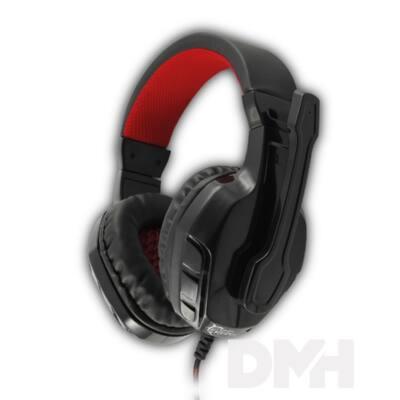 White Shark GH-1641B PANTHER fekete Gaming headset