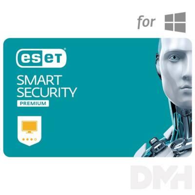 ESET Smart Security Premium hosszabbítás HUN 4 Felhasználó 1 év online vírusirtó szoftver