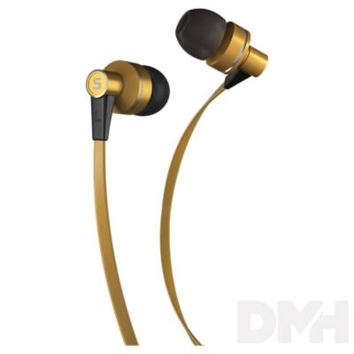Sencor SEP 300 GOLD arany mikrofonos fülhallható