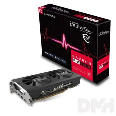 SAPPHIRE PULSE RX 580 8GB AMD 8GB GDDR5 256bit PCIe videokártya