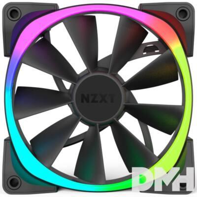 NZXT AER RGB Triple Pack 3db 140mm Fekete ház hűtő