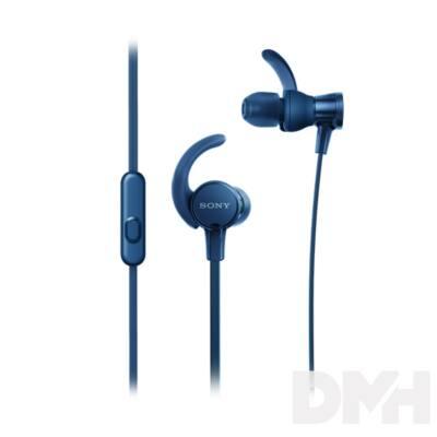 SONY MDRXB510ASL.CE7 sport kék fülhallgató