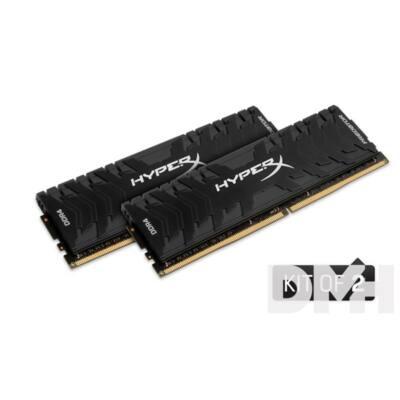 Kingston 16GB/2400MHz DDR-4 (Kit 2db 8GB) HyperX Predator XMP (HX424C12PB3K2/16) memória