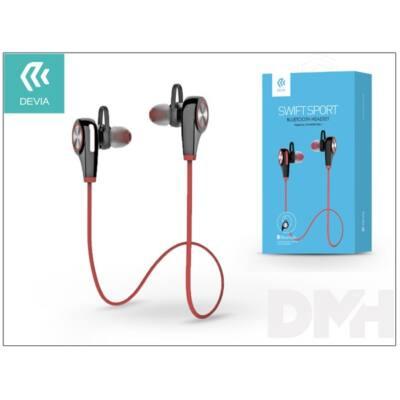 Devia ST992149 Swift Sport Bluetooth piros headset