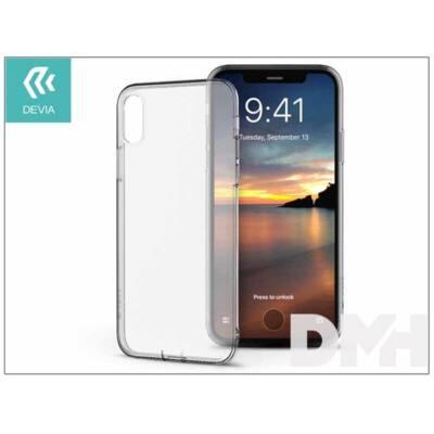 Devia ST307959 NAKED iPhone X átlátszó hátlap