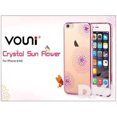 Vouni ST969332 Crystal SUN iPhone 6/6S rózsa rózsaszín hátlap