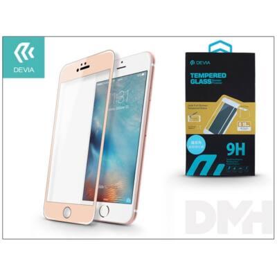 Devia ST979652 JADE iPhone 6/6S 0.18mm üveg képernyő + Crystal hátlapvédő fólia