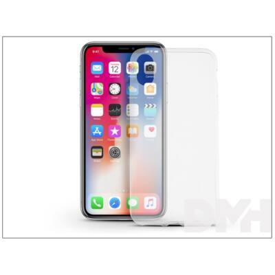 Haffner PT-4234 iPhone X ultra vékony 0.3 átlátszó szilikon hátlap