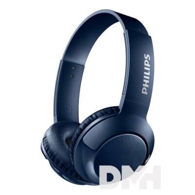 Philips SHB3075BL/00 Bluetooth kék fejhallgató