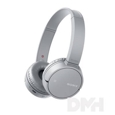 Sony WHCH500H Bluetooth szürke fejhallgató headset
