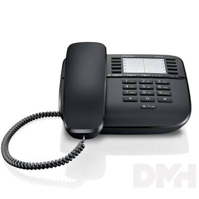 Gigaset DA510 fekete vezetékes telefon