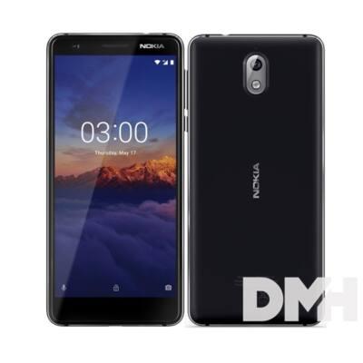 "Nokia 3.1 5,2"" LTE 16GB Dual SIM fekete okostelefon"