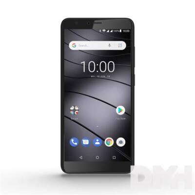 """Gigaset GS100 5,5"""" LTE 8GB Dual SIM grafitszürke okostelefon"""