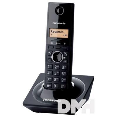 Panasonic KX-TG1711HGB hívóazonosítós fekete dect telefon