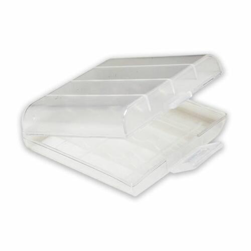 Eneloop fehér akkubox 4 db AA/AAA akkuhoz
