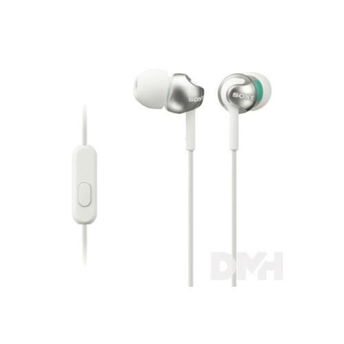 Sony MDREX110APW.CE7 fehér mikrofonos fülhallgató